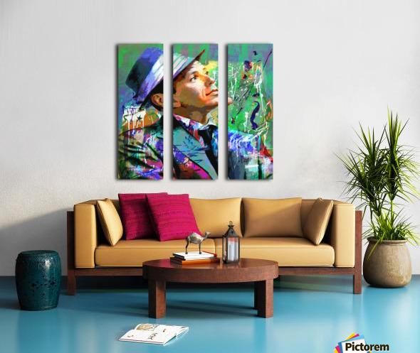 NY Split Canvas print