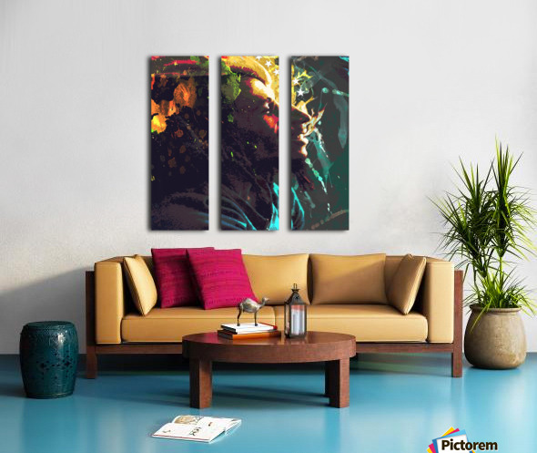 Marley Split Canvas print