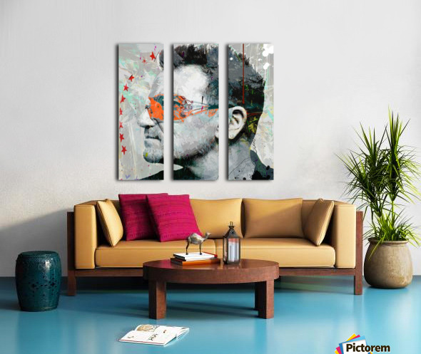One Split Canvas print