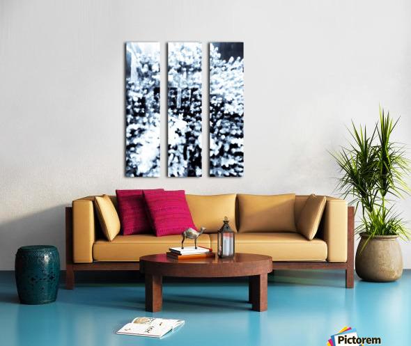 BURST - INVERTED Split Canvas print