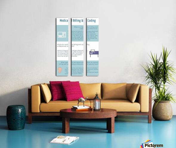 Infographic-Transwise Split Canvas print