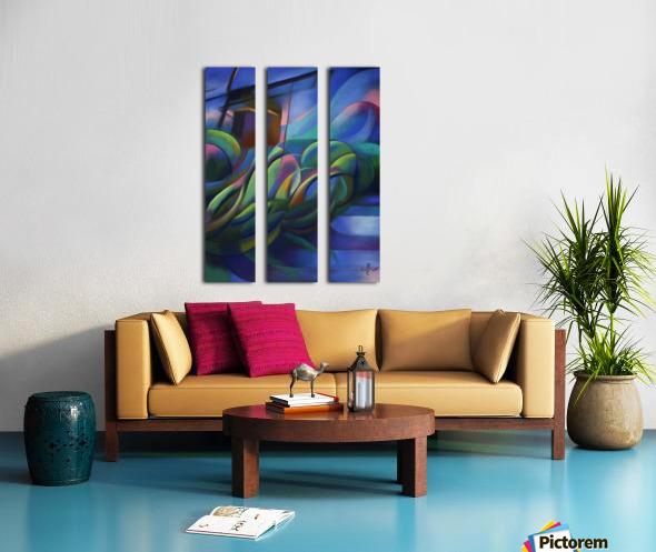 Nieuwe Veenmolen – 18-11-17 Split Canvas print
