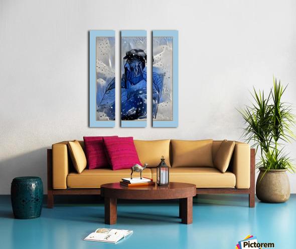 CA100 Split Canvas print