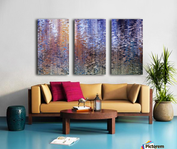 Walnut Creek Afternoon Split Canvas print