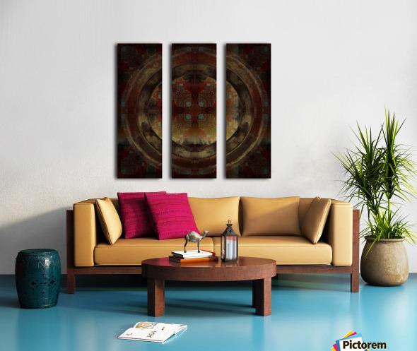 Maltese Window Split Canvas print