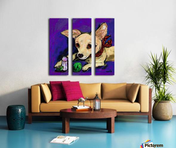 TACO & LIME Split Canvas print
