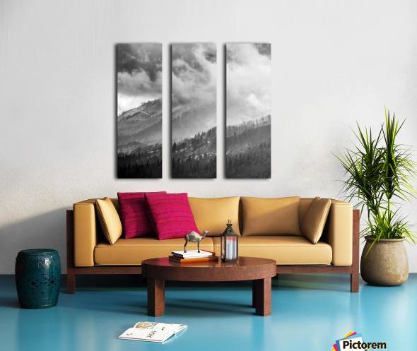Winter Landscape V Split Canvas print
