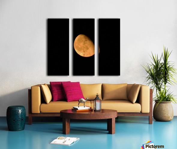 Moon - 4.27 Split Canvas print