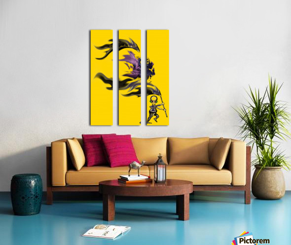 advance Split Canvas print