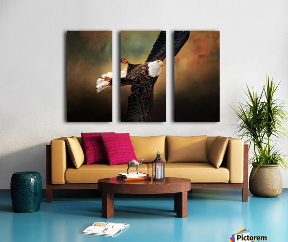 On a Dime Split Canvas print