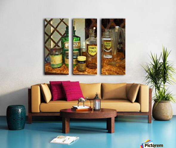 Pharmacie Split Canvas print