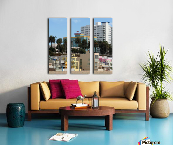 The Georgian at Santa Monic Beach Split Canvas print