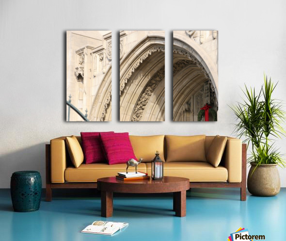 Church Arch Split Canvas print