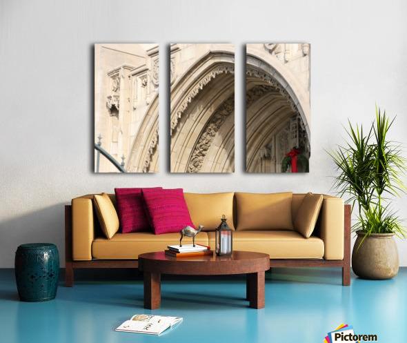 Church Arch Split Canvas print