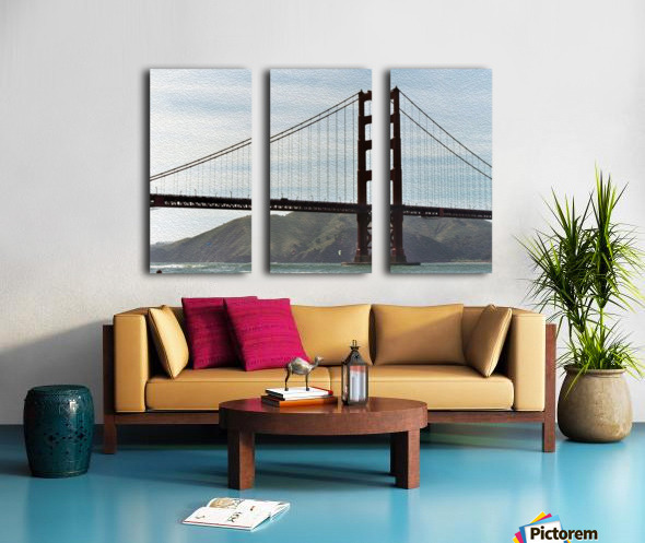 Golden Gate Bridge Split Canvas print