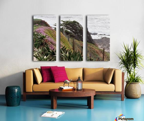 Nature Creates Split Canvas print