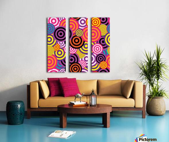 abstract Split Canvas print