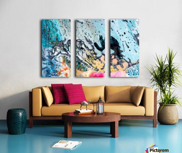 abstract1 Split Canvas print