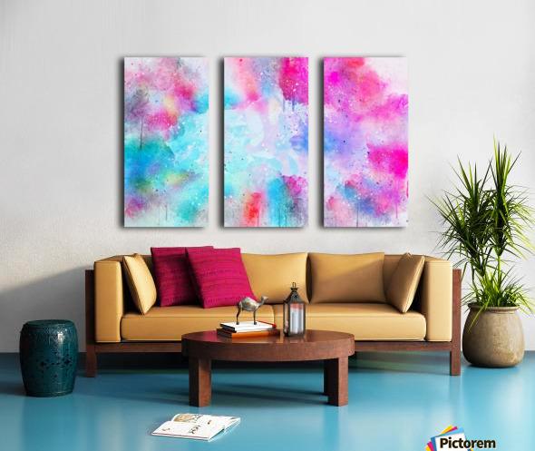 background9 Split Canvas print