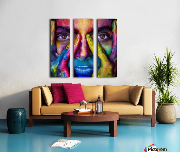 mejk Split Canvas print