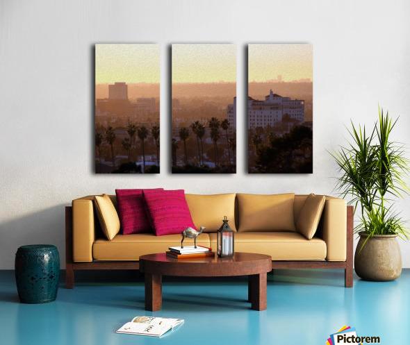 Southern California Sunshine Split Canvas print