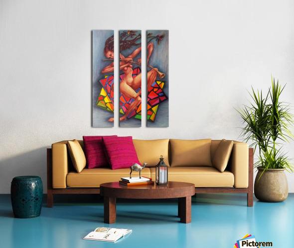 Emotions Split Canvas print