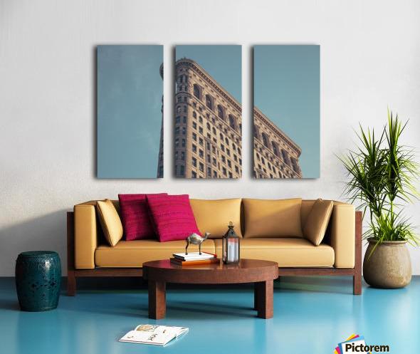 New York Flatiron Building 2 Split Canvas print
