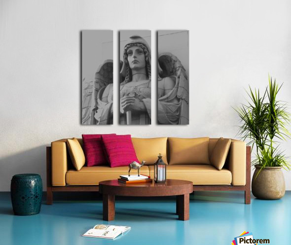 Guardian Angel on Watch Split Canvas print