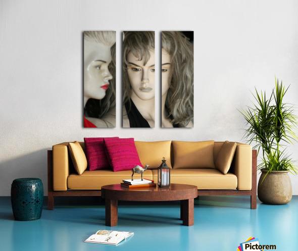 Mannequin Dreams Split Canvas print