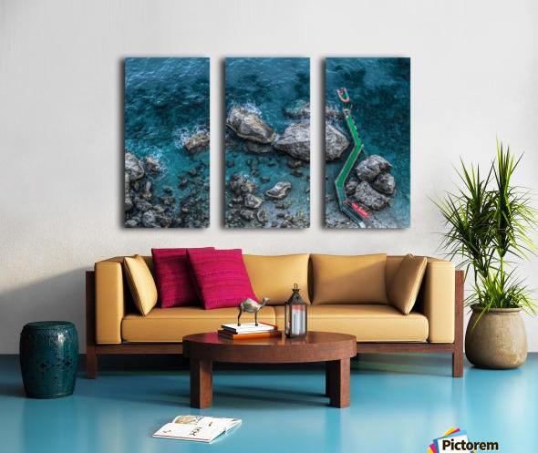 The Beach - Amalfi Coast - Italy Split Canvas print