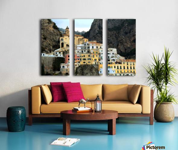 Amalfi  Old Town - Italy Split Canvas print