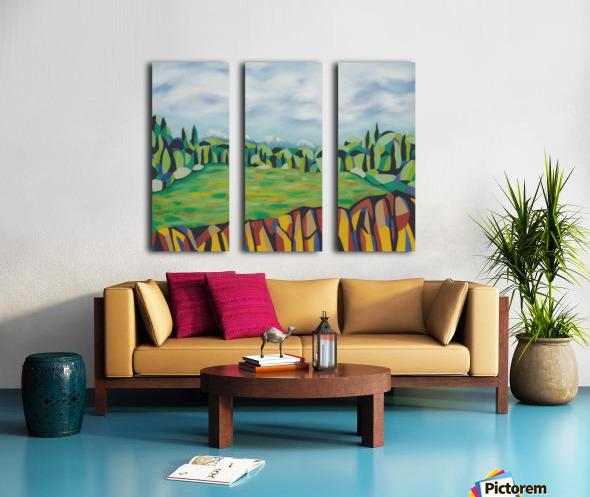 A New Arcadia Split Canvas print