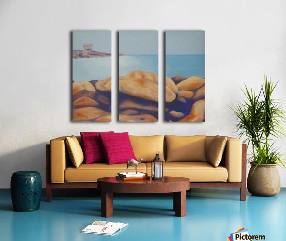 Balanced Passage Split Canvas print