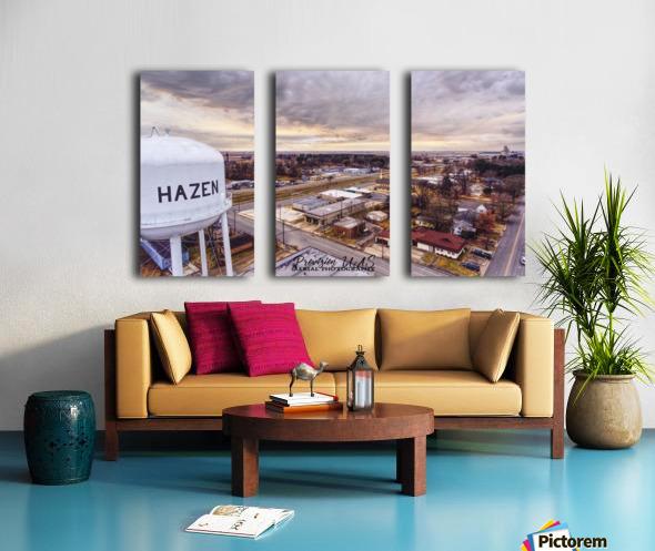 Hazen, AR   Hazen Watertower Split Canvas print