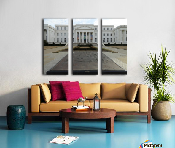 ALABAMA ARCHIVES BUILDING Split Canvas print