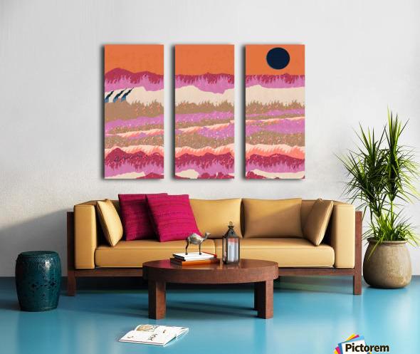 Landscape 748 Split Canvas print