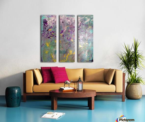 fanciful Split Canvas print