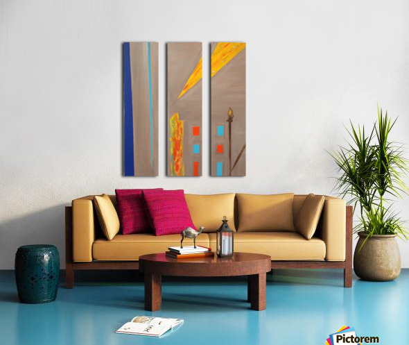 Keep Thinking Split Canvas print