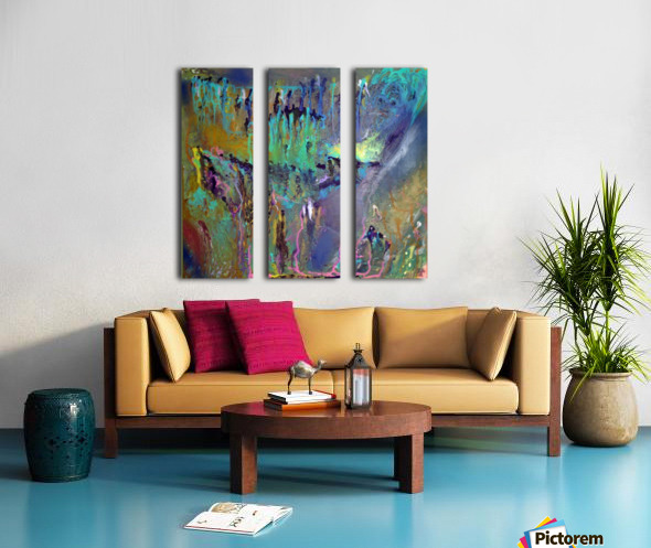 The Unseen World Split Canvas print