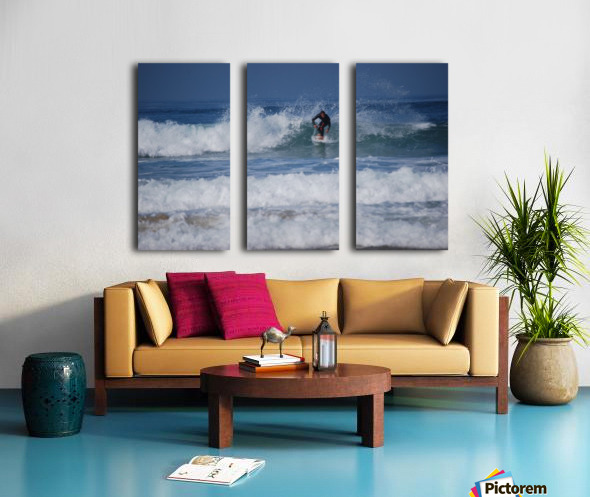 Dana Point surfer Split Canvas print