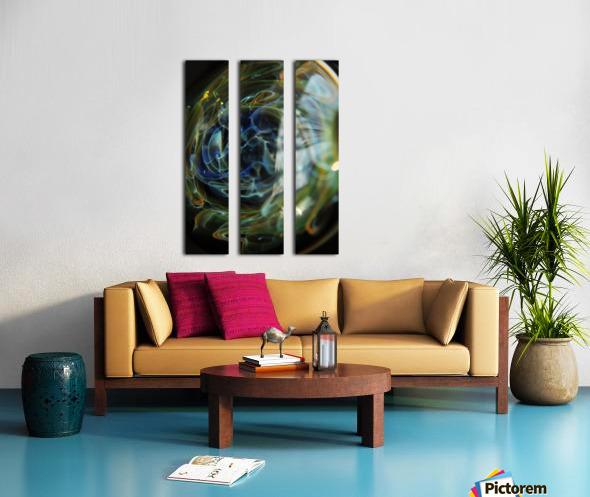 GalaxyInGlassV001 Split Canvas print