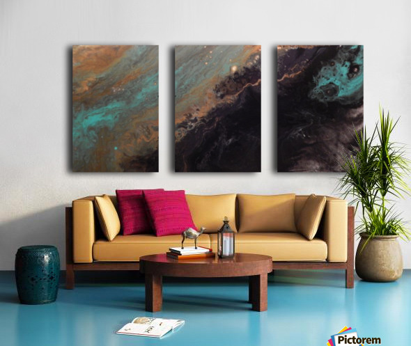 Stellar Split Canvas print