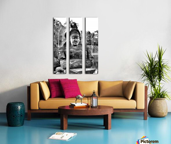 Cambodia Split Canvas print