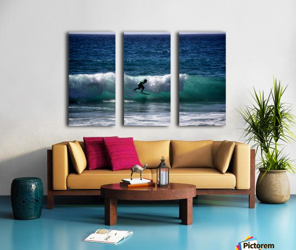 Makaha Hawaii Split Canvas print
