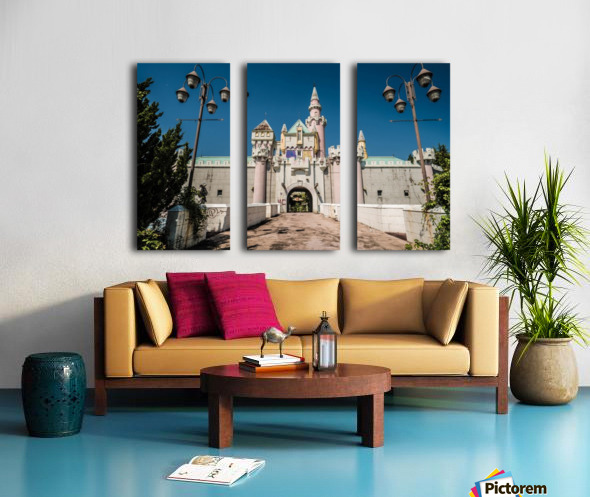 Nara Dreamland Split Canvas print