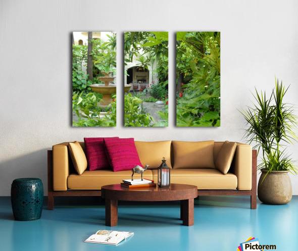 Kenwood Inn Split Canvas print