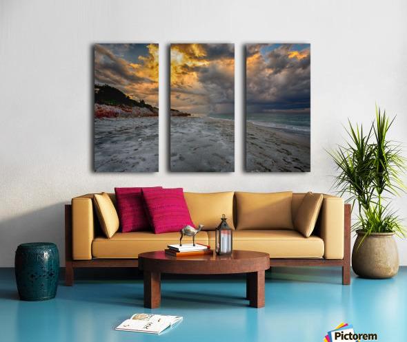 Fire Sky Split Canvas print