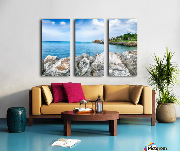 Montego Bay Split Canvas print