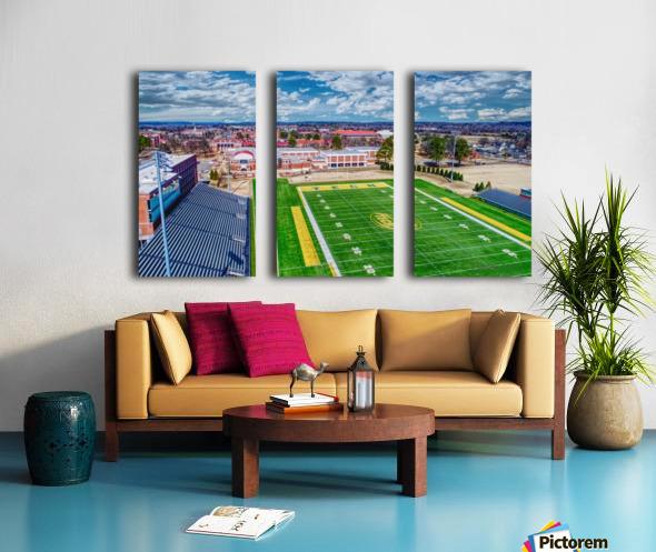 Russellville, AR   Arkansas Tech  Split Canvas print