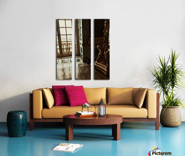 Versailles & Window Split Canvas print